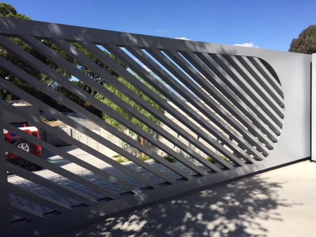 Aluminum Driveway Gate