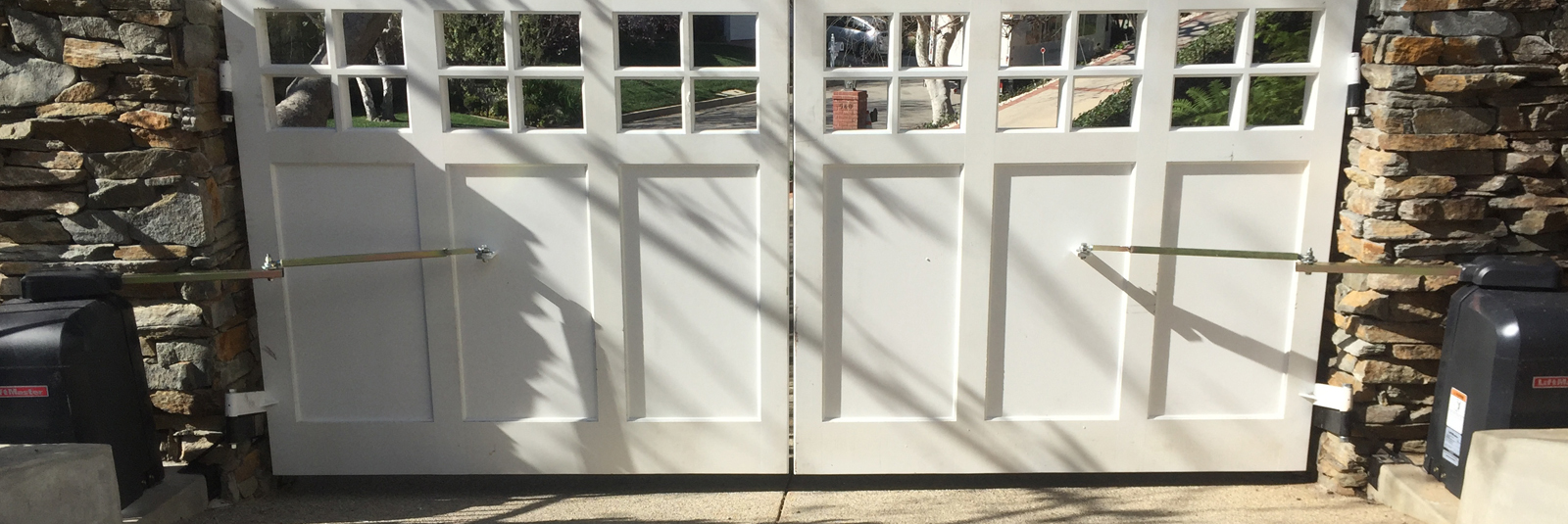Driveway gates automatic electric los