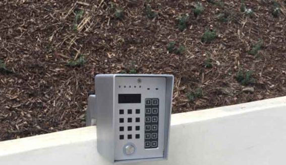 Security Gate Entry Digital Keypad