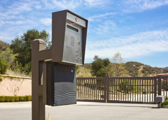 Gate Telephone Entry System